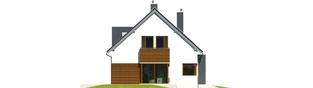 Projekt domu Mati G1 - elewacja lewa