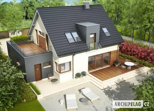 Projekt rodinného domu - Matyáš G1
