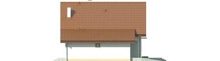 Projekt domu Remek G1 - elewacja lewa