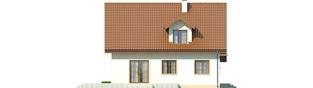 Projekt domu Remek G1 - elewacja prawa