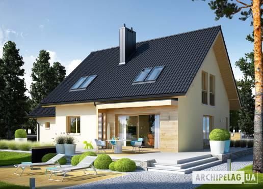 Проект будинку - Е5 (Г1, Економ, версія В)