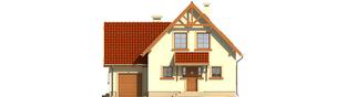 Projekt domu Salome G1 - elewacja frontowa