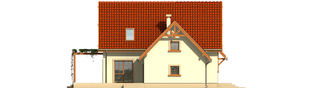 Projekt domu Salome G1 - elewacja lewa