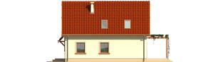Projekt domu Salome G1 - elewacja prawa