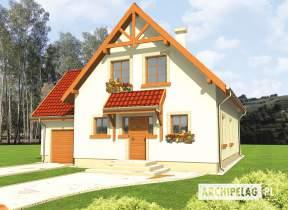 Projekt domu Salome G1 - animacja projektu