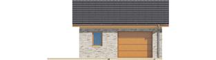 Projekt domu Garaż G22 - elewacja frontowa