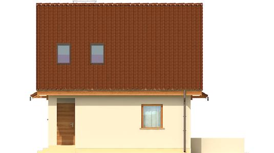 Беатка - Projekty domów ARCHIPELAG - Beatka - elewacja prawa