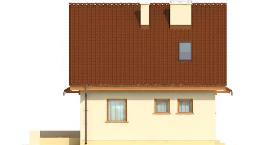 Беатка - Projekty domów ARCHIPELAG - Beatka - elewacja lewa