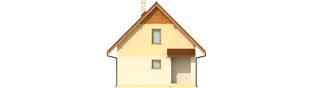 Projekt domu Beatka - elewacja frontowa