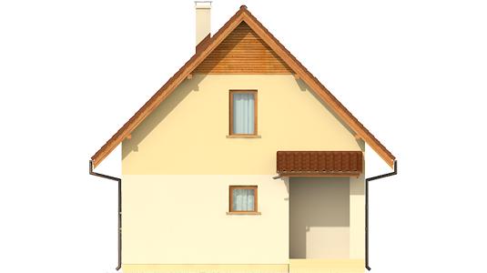 Беатка - Projekty domów ARCHIPELAG - Beatka - elewacja frontowa
