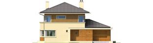 Projekt domu Rodrigo III G1 - elewacja frontowa