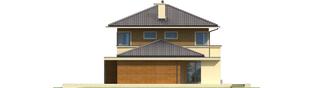 Projekt domu Rodrigo III G1 - elewacja prawa
