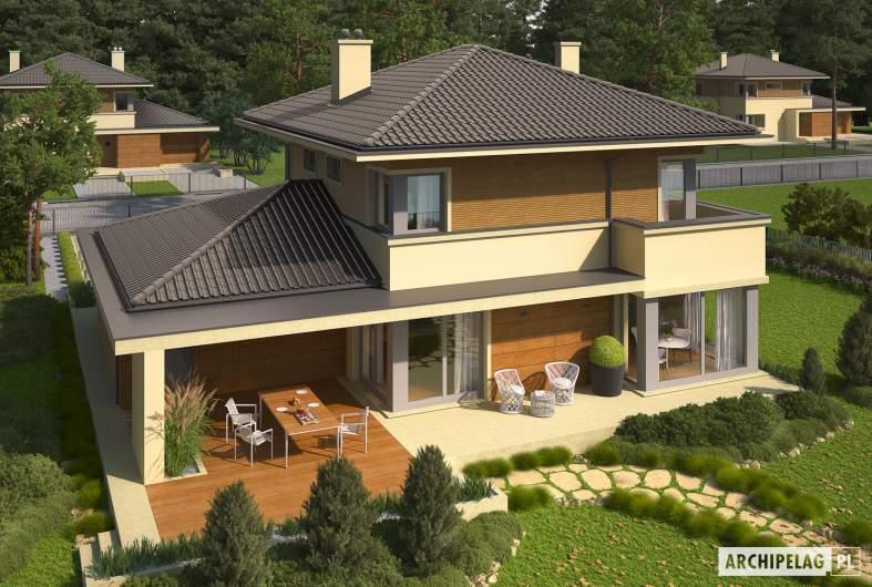 Projekt domu Rodrigo III G1 - widok z góry