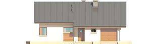 Projekt domu Tori III G1 ECONOMIC (wersja A) - elewacja frontowa