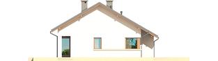 Projekt domu Tori III G1 ECONOMIC (wersja A) - elewacja lewa