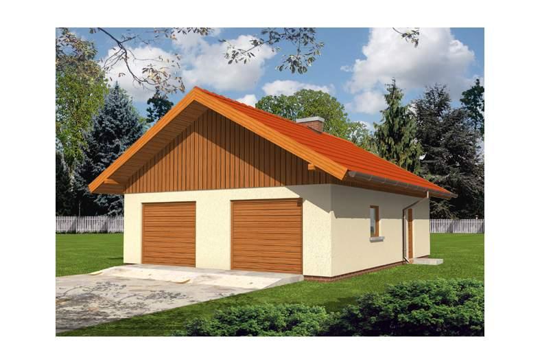 Projekt domu Garaż G13 -