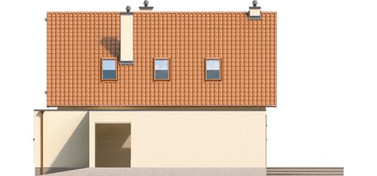 Tiago G1 A++ - Projekt domu Tiago G1 (wersja B) - elewacja prawa