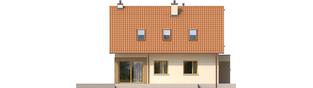 Projekt domu Tiago G1 (wersja B) - elewacja lewa
