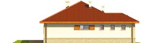 Projekt domu Jana G1 - elewacja lewa