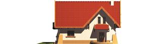 Projekt domu Ada - elewacja frontowa