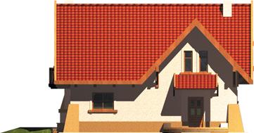 Ada - Projekt domu Ada - elewacja frontowa