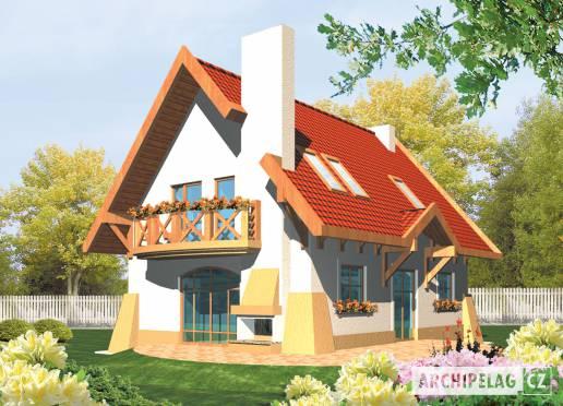 Projekt rodinného domu - Ada