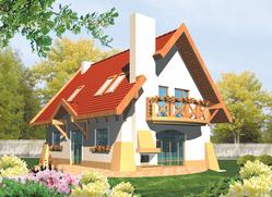 Podrobnosti projektu rodinného domu: Adamína