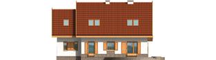 Projekt domu Iskierka G1 - elewacja lewa