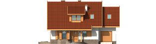 Projekt domu Iskierka G1 - elewacja frontowa