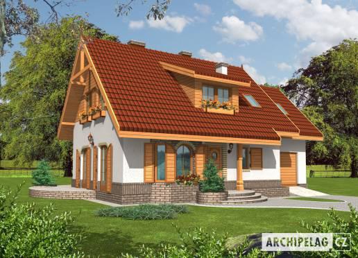 Projekt rodinného domu - Jiskra I (G1)