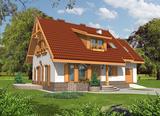 Projekt rodinného domu: Jiskra I (G1)