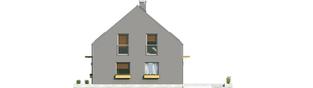 Projekt domu E7 ENERGO PLUS - elewacja prawa
