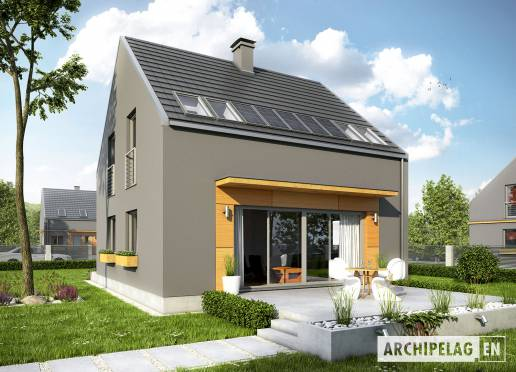 House plan - E7 ENERGO PLUS