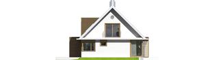 Projekt domu EX 3 G1 - elewacja prawa