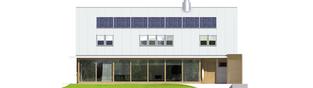 Projekt domu EX 3 G1 - elewacja tylna