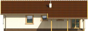 Mirella - Projekt domu Mirella - elewacja tylna