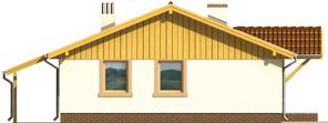 Mirella - Projekt domu Mirella - elewacja prawa