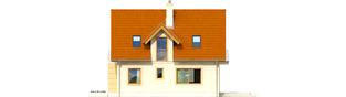 Projekt domu Julek II - elewacja prawa