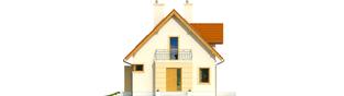 Projekt domu Julek II - elewacja frontowa