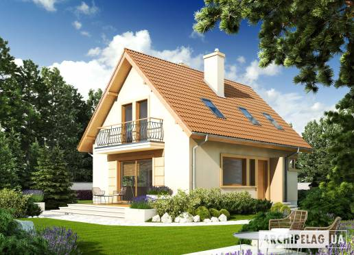 Проект будинку - Юлік ІІ