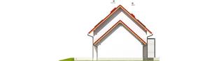 Projekt domu Lea G1 - elewacja lewa