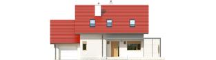 Projekt domu Lea G1 - elewacja frontowa