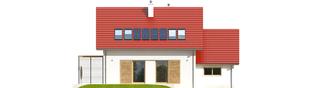 Projekt domu Lea G1 - elewacja tylna