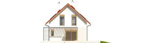 Projekt domu Lea G1 - elewacja prawa