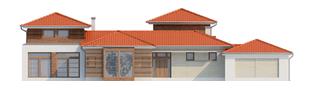 Projekt domu Dionizy (mały) G2 - elewacja frontowa