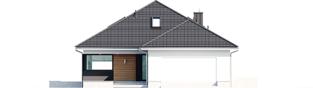 Projekt domu Alison IV G2 - elewacja frontowa