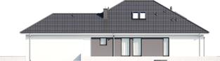 Projekt domu Alison IV G2 - elewacja prawa
