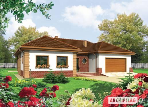 Projekt rodinného domu - Tosca II