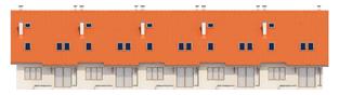 Projekt domu Rozanna G1 - elewacja tylna