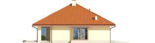 Projekt domu Flori III G1 (wersja B) Leca® DOM - elewacja lewa